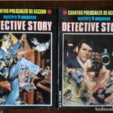 Cómics: DETECTIVE STORY 5 UNIDADES Nº 1-2-3-4-5 MISTERIO SUSPENSE 1989 NEW COMIC NUEVO. Lote 128859211