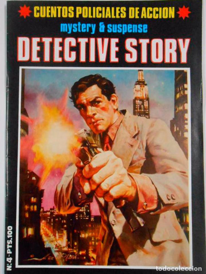 Cómics: DETECTIVE STORY 5 UNIDADES Nº 1-2-3-4-5 MISTERIO SUSPENSE 1989 NEW COMIC NUEVO - Foto 2 - 128859211