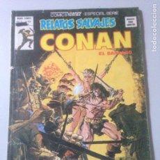 Cómics: CONAN - RELATOS SALVAJES - N. 69. Lote 139419989