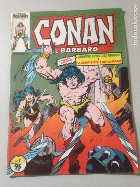 COMIC CONAN EL BARBARO N 7 (Tebeos y Comics - Comics Pequeños Lotes de Conjunto)