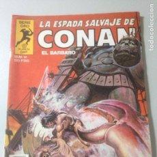 Cómics: LA ESPADA SALVAJE DE CONAN SERIE ORO NUM. 14 (1982). Lote 139420925