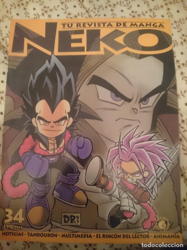 NEKO. TU REVISTA DE MANGA N 34 --REFM3E3 (Tebeos y Comics Pendientes de Clasificar)