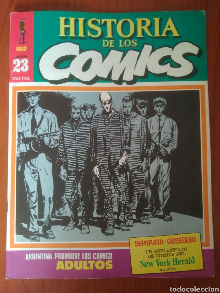 HISTORIA DE LOS COMIC 23.ARGENTINA PROMUEVE COMIC ADULTOS.NO INCLUYE SUPLEMENTO (Tebeos y Comics Pendientes de Clasificar)