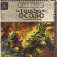 Cómics: REINOS OLVIDADOS LA TUBA DEL OCASO. Lote 139824970