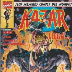 Cómics: KA-ZAR. FORUM 1998. Nº 5. Lote 290347293