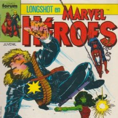 Cómics: MARVEL HÉROES. FORUM 1987. Nº 18 -LONGSHOT-. Lote 195071736