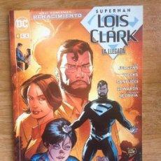 Cómics: SUPERMAN LOIS Y CLARK - LA LLEGADA - DAN JURGENS - LEE WEEKS - ... ECC. Lote 140029466