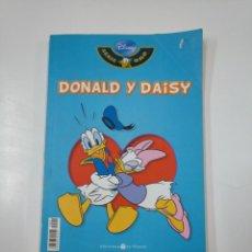 Cómics: DONALD Y DAISY. SERIE ORO DISNEY. BIBLIOTECA EL MUNDO Nº 2. TDK112. Lote 140145330