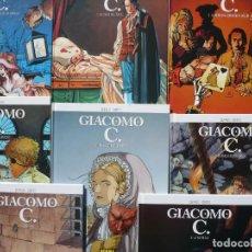 Cómics: GIACOMO C. DUFAUX - GRIFFO. NORMA EDITORIAL, 8 PRIMEROS TOMOS.. Lote 140241070