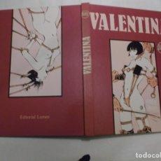 Cómics: COMIX VALENTINA ,GUIDO CREPAX, EN CASTELLANO TAPA DURA ,2 EDICION 1981,128 PAGINAS, LUMEN EDITORIAL. Lote 140250950