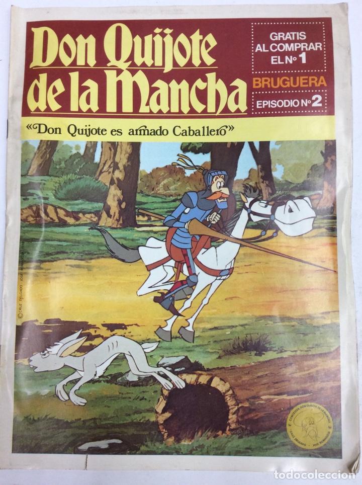 DON QUIJOTE DE LA MANCHA (Tebeos y Comics Pendientes de Clasificar)