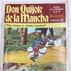 Cómics: DON QUIJOTE DE LA MANCHA. Lote 140303984