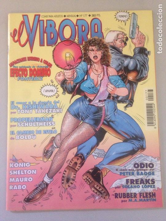 EL VIBORA Nº 177 (Tebeos y Comics - Comics Pequeños Lotes de Conjunto)