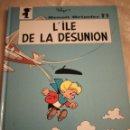 Cómics: PEYO BENOIT BRISEFER Nº9 L´ILE DE LA DESUNION - 2001. Lote 140338150