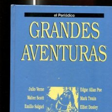 Cómics: EL PERIODICO: GRANDES AVENTURAS TOMO SEGUNDO: ROB ROY-LOS HIJOS DEL CAPITAN GRANT-EL CONTINENTE .... Lote 72128534