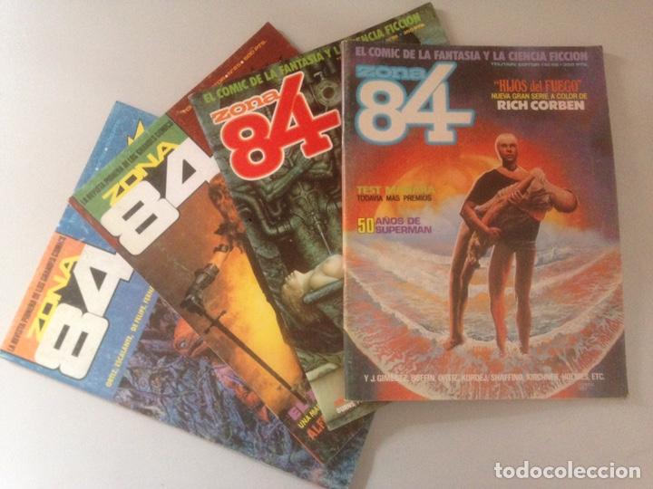 LOTE ZONA 84 (Tebeos y Comics - Comics Pequeños Lotes de Conjunto)