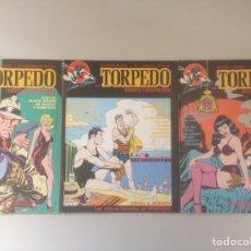 Cómics: LOTE TORPEDO. Lote 140656313