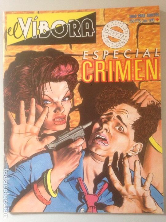 COMIC EL VIBORA ESPECIAL CRIMEN (Tebeos y Comics - Comics Pequeños Lotes de Conjunto)