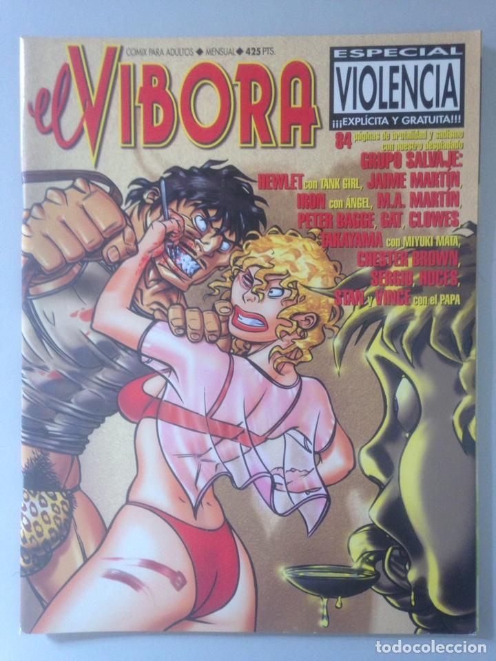 COMIC EL VIBORA ESPECIAL VIOLENCIA (Tebeos y Comics - Comics Pequeños Lotes de Conjunto)