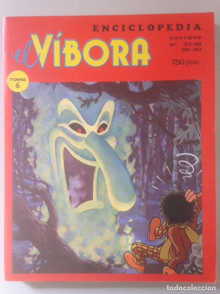 COMIC EL VIBORA ENCICLOPEDIA TOMO 6 (Tebeos y Comics - Comics Pequeños Lotes de Conjunto)