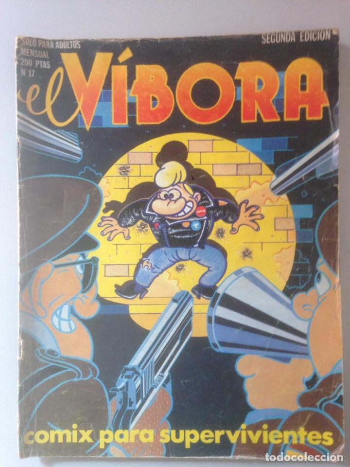 EL VIBORA 17 (Tebeos y Comics - Comics Pequeños Lotes de Conjunto)
