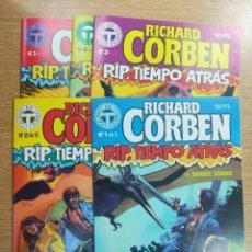 Cómics: RICHARD CORBEN - RIP TIEMPO ATRÁS COLECCIÓN COMPLETA (5 NUMEROS). Lote 140733272
