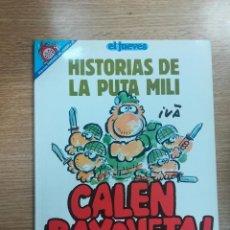 Cómics: HISTORIAS DE LA PUTA MILI CALEN BAYONETA (PENDONES DEL HUMOR #82). Lote 140735041