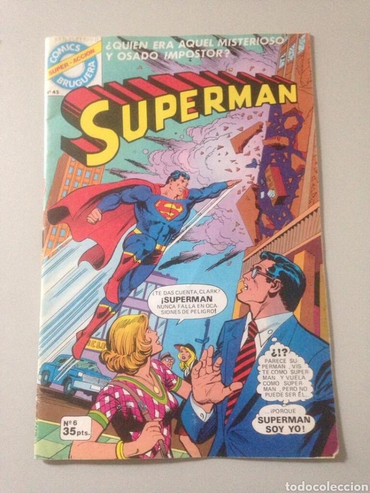 COMIX SUPERMAN NRO 45 (Tebeos y Comics - Comics Pequeños Lotes de Conjunto)