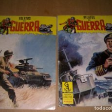 Cómics: 2 TOMOS DE RELATOS DE GUERRA. Lote 140925174