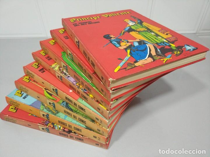 EL PRÍNCIPE VALIENTE - HÉROES DEL CÓMIC COLECCIÓN COMPLETA 8 TOMOS (Tebeos y Comics - Buru-Lan - Principe Valiente)
