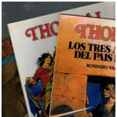 Cómics: THORGAL -COMPLETA 3 ÁLBUMES,1,2 Y 3- DISTRINOVEL,1981.MUY BUENOS.. Lote 155670744