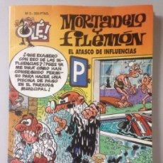 Cómics: MORTADELO Y FILEMÓN 3 EL ATASCO DE INFLUENCIAS PRIMERA EDICION 1993. Lote 141142458