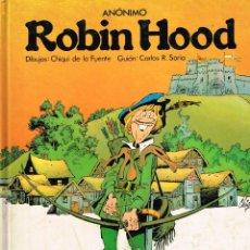 Cómics: ROBIN HOOD,DIBUJOS CHIQUI DE LA FUENTE.EDIT, LAROUSSE.. Lote 141161830