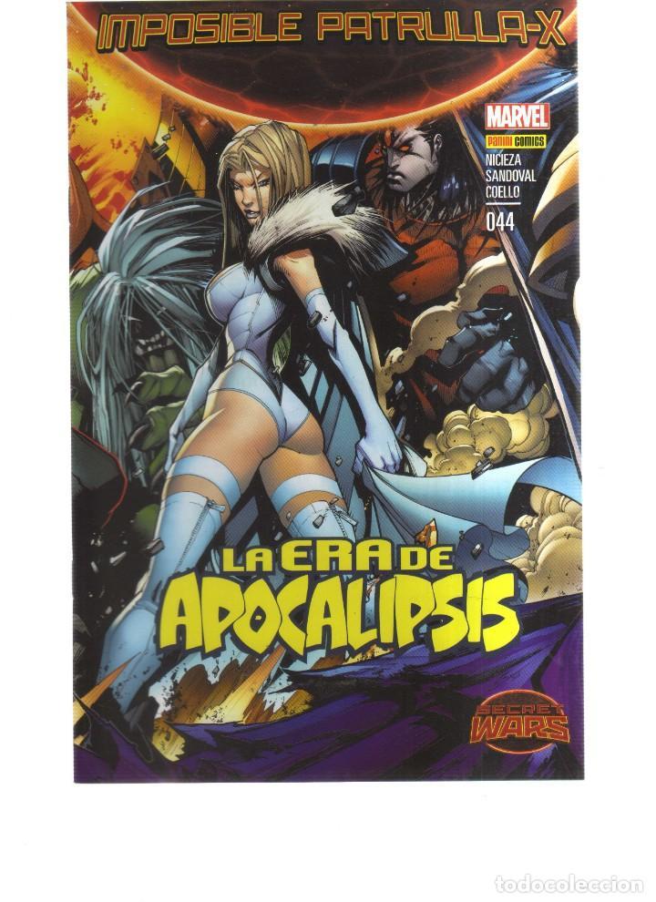 IMPOSIBLE PATRULLA -X LA ERA DEL APOCALIPSIS N,044 (Tebeos y Comics - Comics otras Editoriales Actuales)