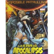 Cómics: IMPOSIBLE PATRULLA -X LA ERA DEL APOCALIPSIS N,044. Lote 141201538