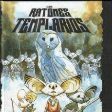 Cómics: LOS RATONES TEMPLARIOS - LA PROFECÍA / EDITORIAL DOLMEN / COMIC-38 , PERFECTO ESTADO . Lote 141272926
