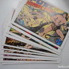 Cómics: EL HOMBRE DE PIEDRA(10 TOMOS) Y91166. Lote 141467538