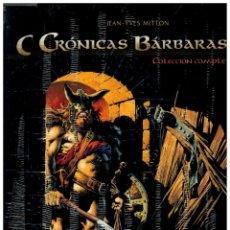 Cómics: CRÓNICAS BÁRBARAS.COLECCIÓN COMPLETA 2 TOMOS EN ESTUCHE ESPECIAL.EDICIÓN LIMITADA.YERMO EDICIONES.. Lote 141504350