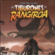 Cómics: LOS TIBURONES DE RANGIROA - PEDRO PÉREZ VALIENTE - DIB-BUKS / COMIC-12 , PERFECTO ESTADO. Lote 141529830