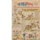 Cómics: FLECHAS Y PELAYOS. SEMANARIO NACIONAL INFANTIL. Nº 135. 6 JULIO 1941. Lote 53314899
