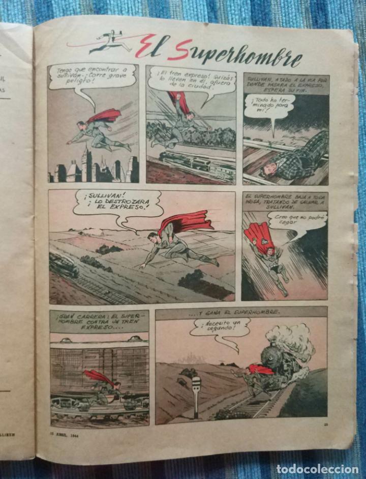 Cómics: BILLIKEN Nº 1273 (AÑO 25) - CON POSTER CENTRAL Y AVENTURA DE SUPERMAN (EDIT. ATLANTICA 10/04/1944) - Foto 3 - 141681374