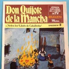 Cómics: DON QUIJOTE DE LA MANCHA. Lote 141684958