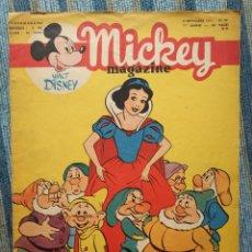 Cómics: MICKEY MAGAZINE (DISNEY), LOTE DE 16 NUMEROS ENTRE EL 48 Y 68 (EDIT. DU PONT-LEVIS 1951) -EN FRANCES. Lote 141687526