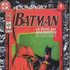 Cómics: BATMAN Nº 242 - CONTAGIO Nº 1 - GRUPO EDITORIAL VID. Lote 141706778