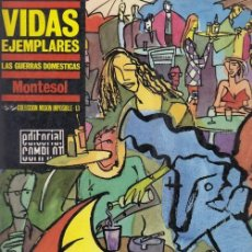 Cómics: VIDAS EJEMPLARES - MONTESOL - COLECCION MISION IMPOSIBLE Nº 13 -EDITORIAL COMPLOT. Lote 141714798