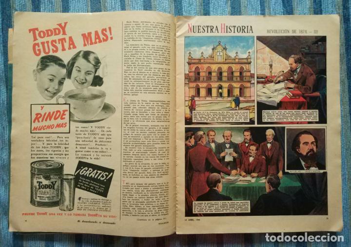 Cómics: BILLIKEN Nº 1273 (AÑO 25) - CON POSTER CENTRAL Y AVENTURA DE SUPERMAN (EDIT. ATLANTICA 10/04/1944) - Foto 4 - 141681374