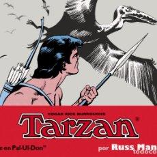 Cómics: TARZAN POR RUSS MANNING - TIRAS DIARIAS V. 3 - MANUEL CALDAS EDITOR. Lote 141850378