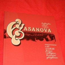 Cómics: CASANOVA - GUIDO CREPAX Y OTROS, EDITORIAL LUMEN 1984. Lote 141939494