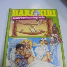 Cómics: TEBEO. HARA KIRI. EXTRA. Nº 5. HUMOR BESTIA Y SANGRIENTO.. Lote 142020094