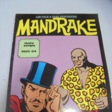 Cómics: TEBEO. MANDRAKE. DAILY STRIPS. 1983 / 84. NEW COMICS NOW 134. ITALIANO. Lote 142025618